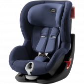Детское автокресло Britax Roemer King II Black Series Moonlight Blue Trendline